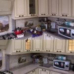 До и после уборки на кухне
