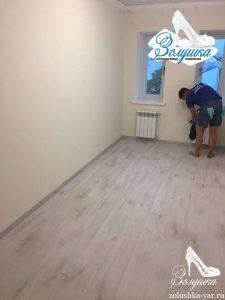 Комната без мебели после ремонта