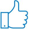 иконка с большим пальцем