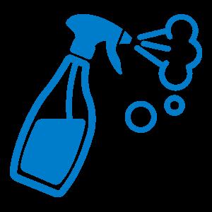 Иконка емкости с распылителем