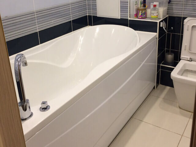 Ванная комната после уборки