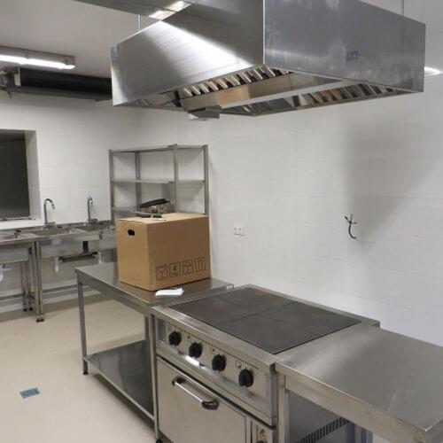 Интерьер кухни общественного питания