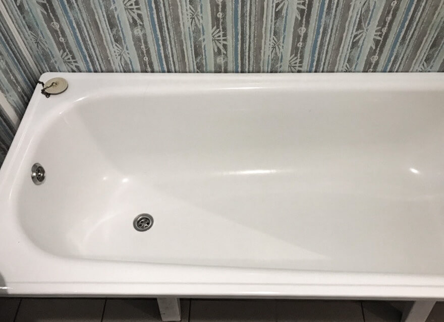 Ванна чистая после уборки