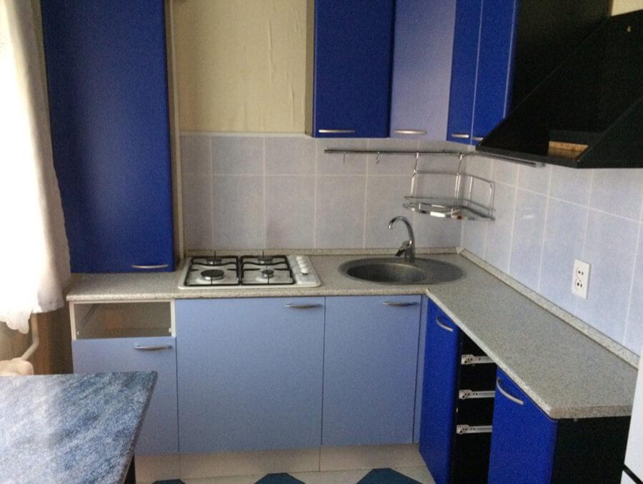 Кухонный гарнитур после уборки