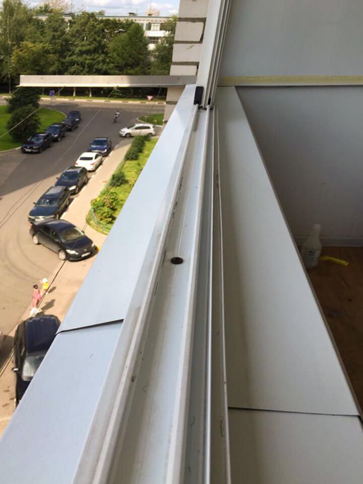 Рама балконного остекления