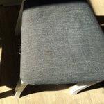 Мягкая обивка стула до химчистки