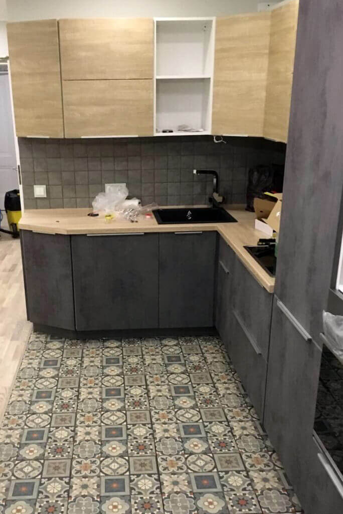 Кухня после уборки