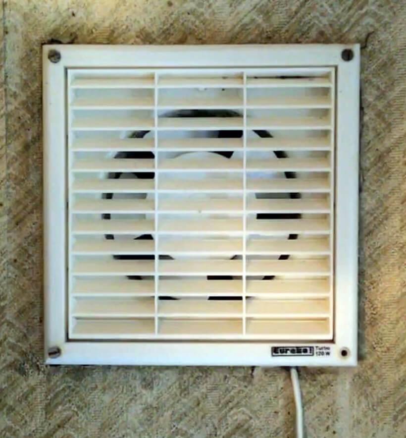 Чистая вентиляционная решетка