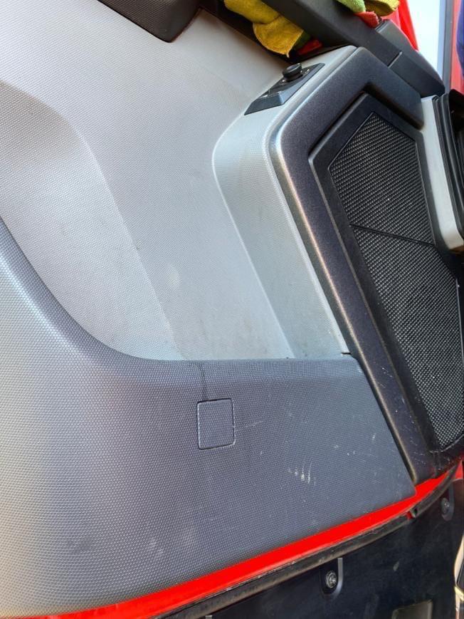 Панели автомобиля до химчистки