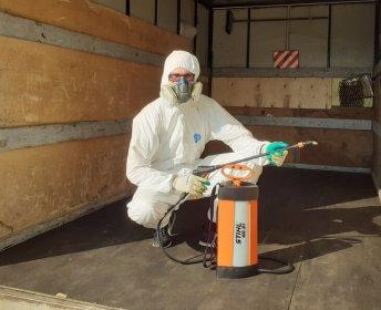 Дезинфектор для уничтожения насекомых, грызунов