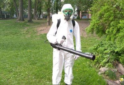 Уничтожение насекомых, грызунов, микроорганизмов