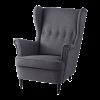 Кресло с мягкой обивкой